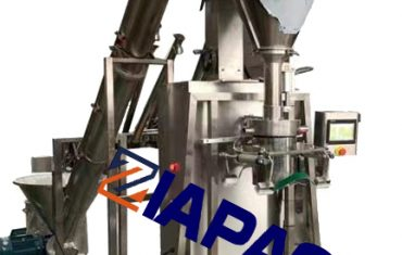 Semi-automatic auger measuring machine for powder product