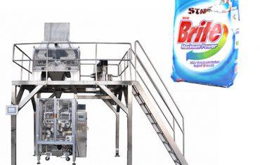 4 дарга шугаман жингийн угаалгын нунтаг нунтаг баглаа боодлын машин