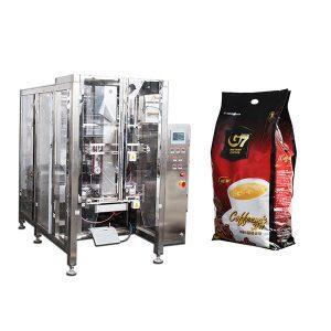 Цайны Quad багийн Маягт бөглөх сав баглаа боодлын машин