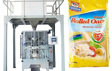 Автомат oatmeal савлах машинаар шугаман жинтэй
