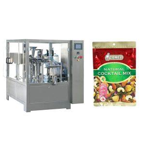 Nuts эргэлтэт цахилгаан товч уут сав баглаа боодлын машин