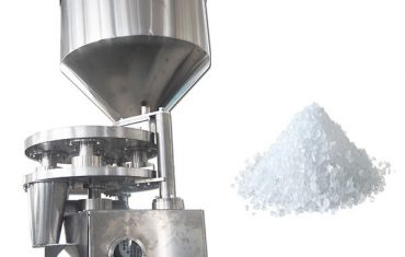 Volumetric cup dosing filling machine for granule product