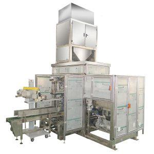 ZTCK-25 Автомат багийн тэжээл савлах машин, нэхмэл уут сав баглаа боодлын машин